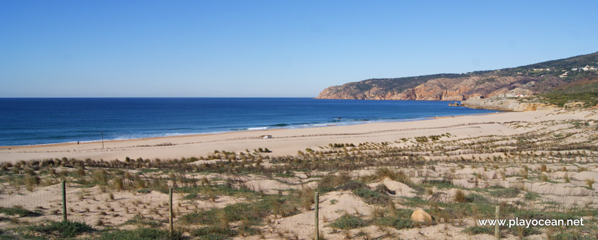 Panorâmica da Praia Grande do Guincho