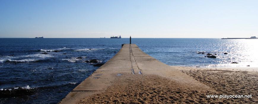 Pontão, Praia das Moitas
