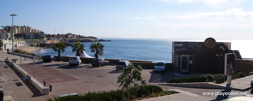 Estacionamento na Praia da Parede