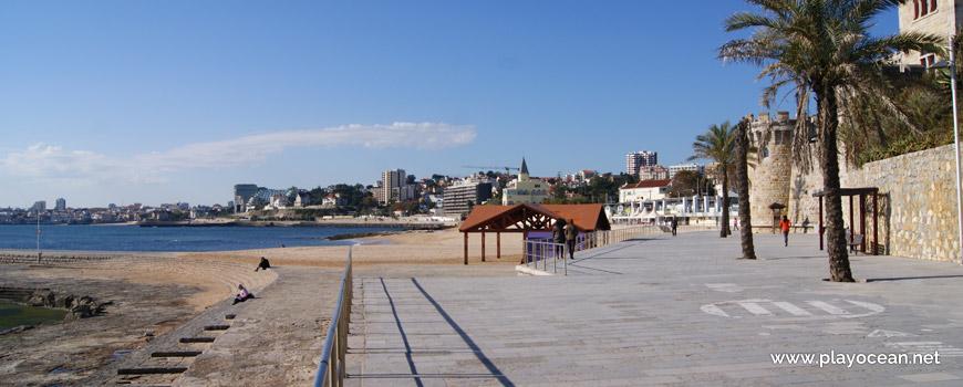 Entrada, Praia do Tamariz