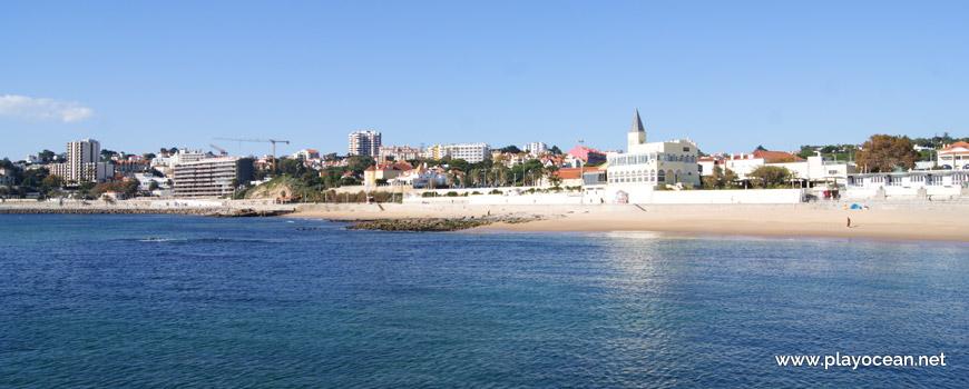 Pontão central, Praia do Tamariz