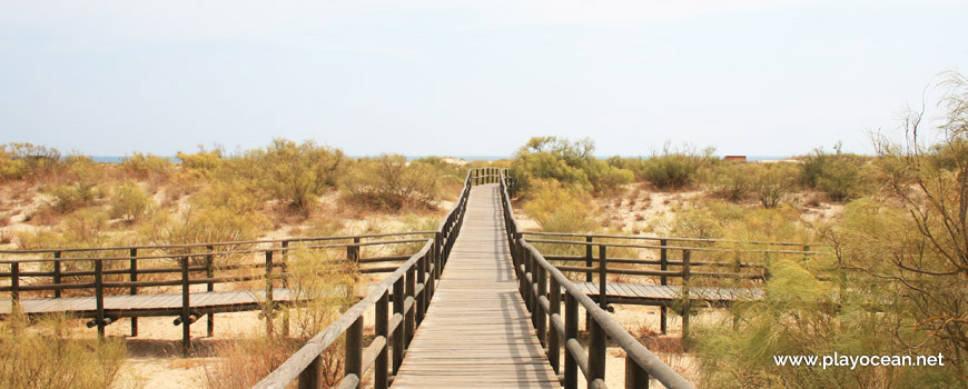 Access to Praia da Alagoa Beach