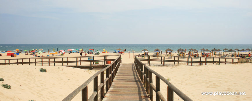 Entrance of Praia da Alagoa Beach