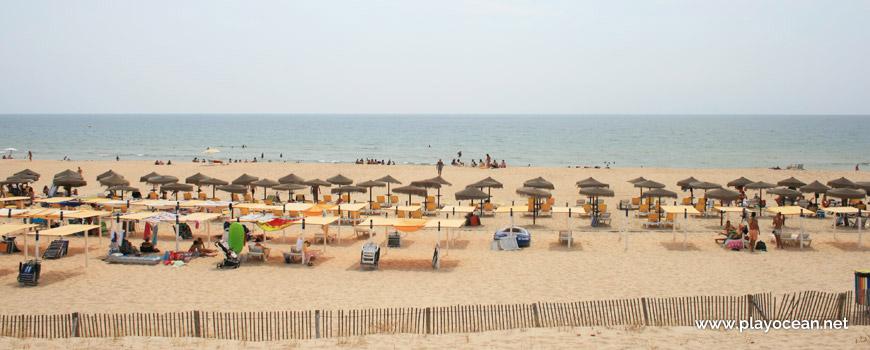 Área concessionada da Praia do Cabeço