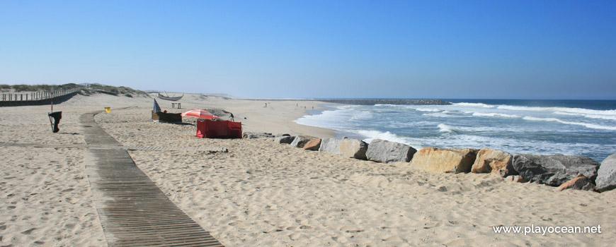 South part of Praia de Paramos Beach