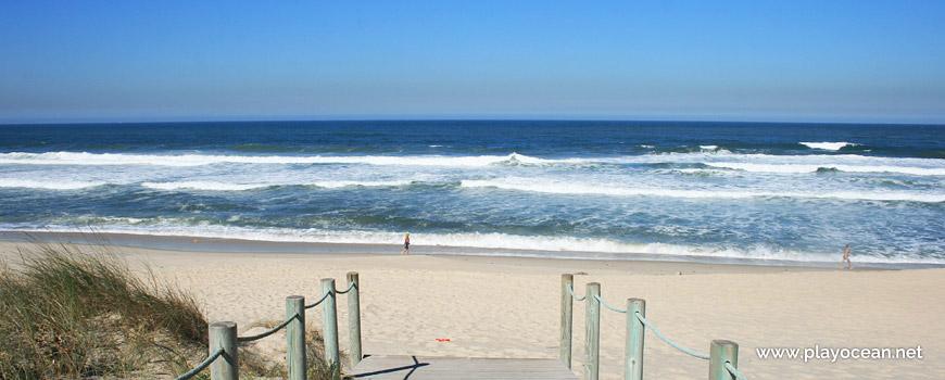 Sea at Praia de Paramos Beach
