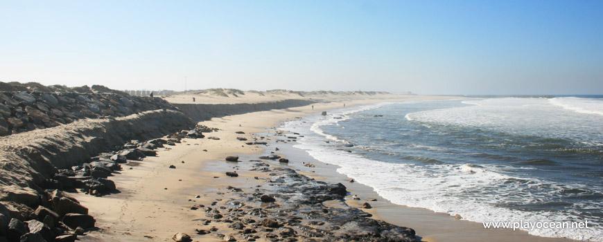 South of Praia de Silvalde Beach