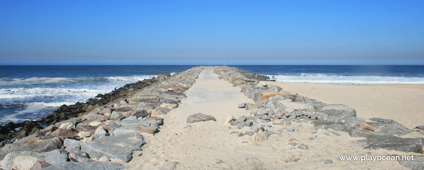Pontão, Praia de Silvalde