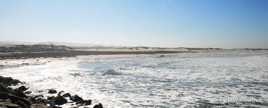 Panoramic of Praia de Silvalde Beach