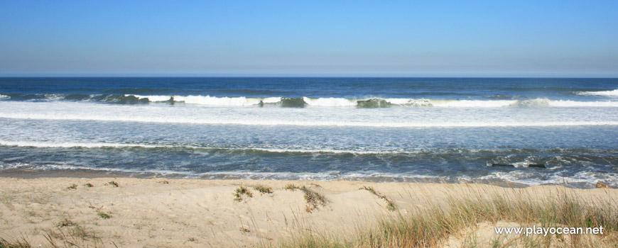 Sea of Praia de Silvalde Beach