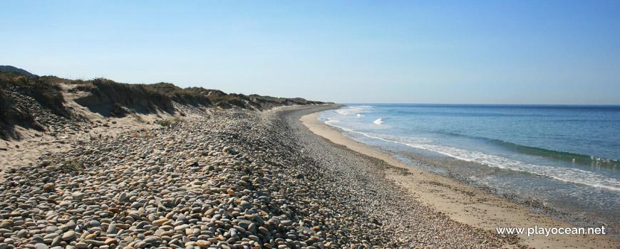 Pebbles at Praia de Antas Beach