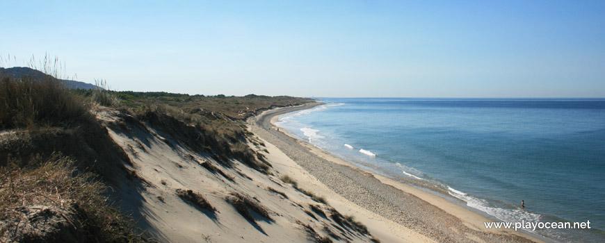 South of Praia de Antas Beach