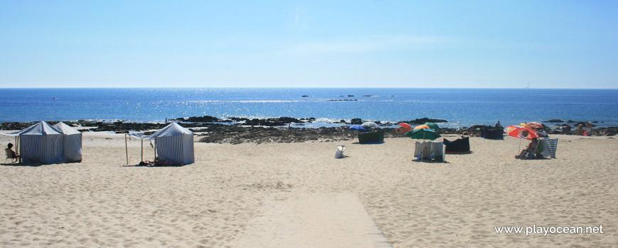 Entrance, Praia de Apúlia (North) Beach