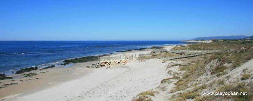 Norte da Praia de Barrelas