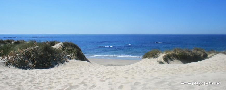 Entrada da Praia de Fão