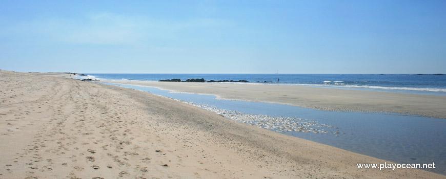 Maré baixa, Praia de Fão