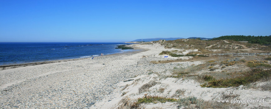 North of Praia de Marinhas Beach