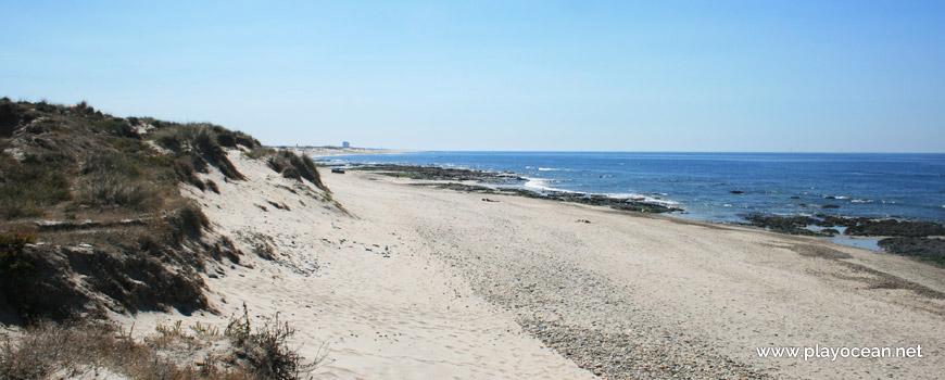 South at Praia de Marinhas Beach