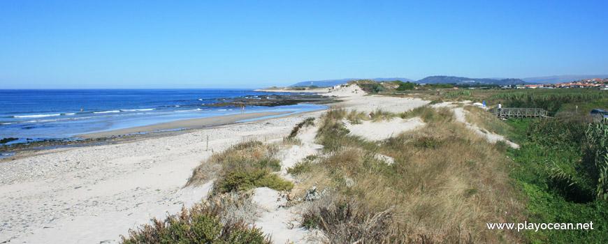 North of Praia de Rio de Moinhos Beach