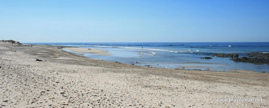 Maré baixa, Praia de Rio de Moinhos