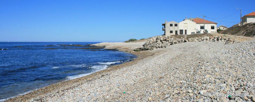 Houses at Praia de São Bartolomeu do Mar Beach