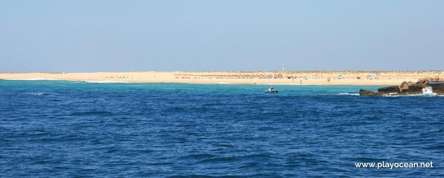 Panorâmica da Praia da Barreta (Mar)