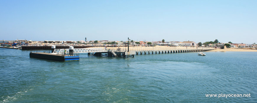 Wharf, Culatra Island
