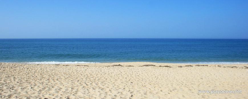 Seaside of Praia de Faro (East) Beach