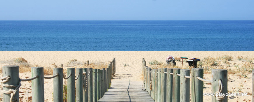 Entrance of Praia de Faro (East) Beach