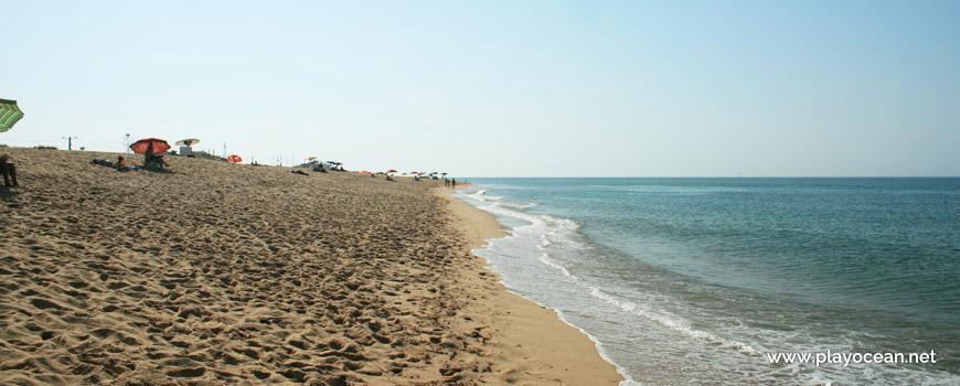 Beira-mar da Praia de Faro (Mar)