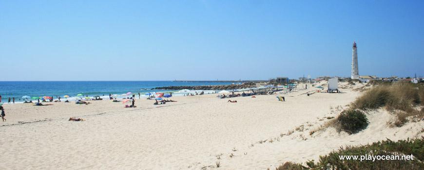 Sand at Praia da Ilha do Farol (Sea) Beach