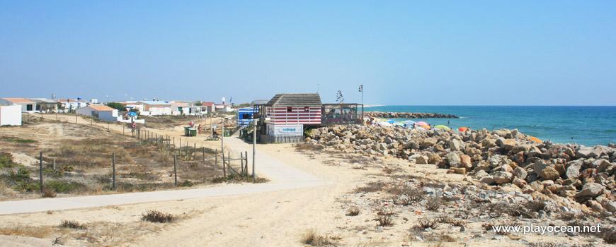 Acesso à Praia da Ilha do Farol (Mar)
