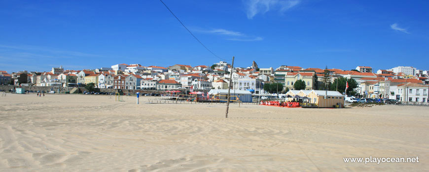 Houses near Praia de Buarcos Beach