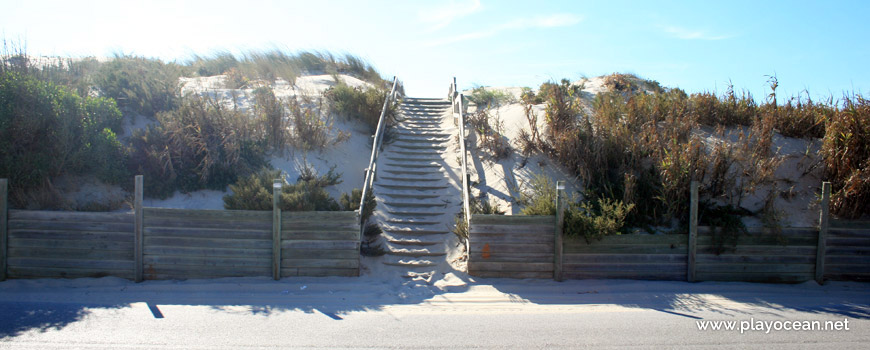 Stairway at Praia do Cabedelo (South) Beach