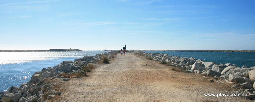 Pontão, Praia do Cabedelo