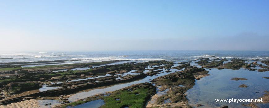 Poças na Praia do Cabo Mondego