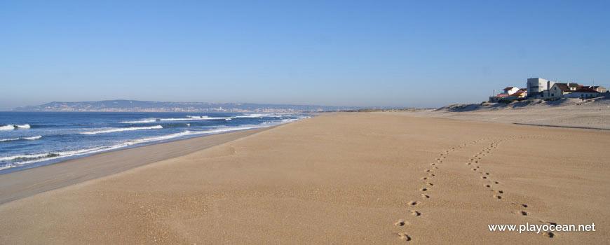 Norte na Praia da Costa de Lavos