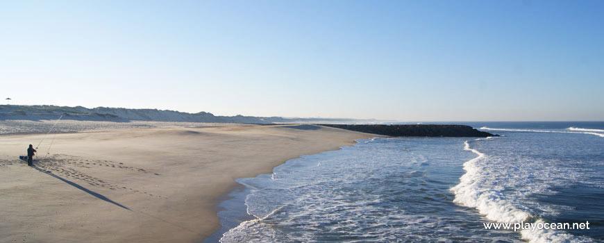 Beira-mar, Praia da Cova Gala (Norte)