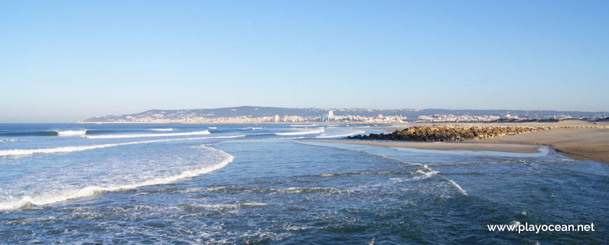 North of Praia da Cova Gala (North) Beach