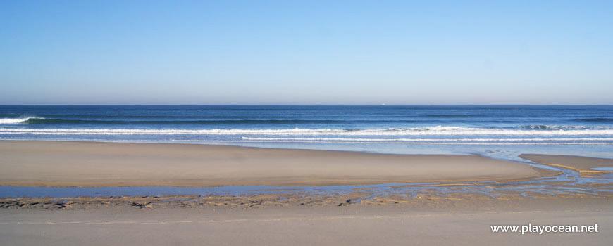 Sea at Praia da Cova Gala (South) Beach