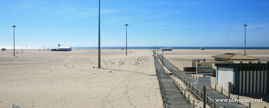 Walkways at Praia do Relógio Beach