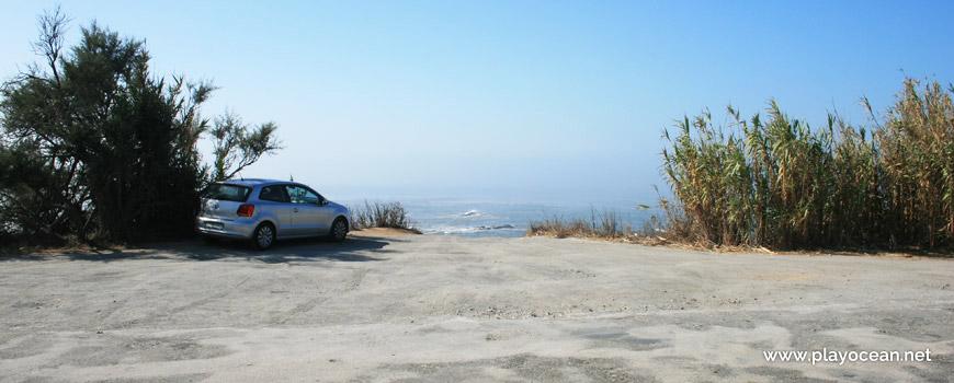 Entrada, Praia da Fonte das Pombas