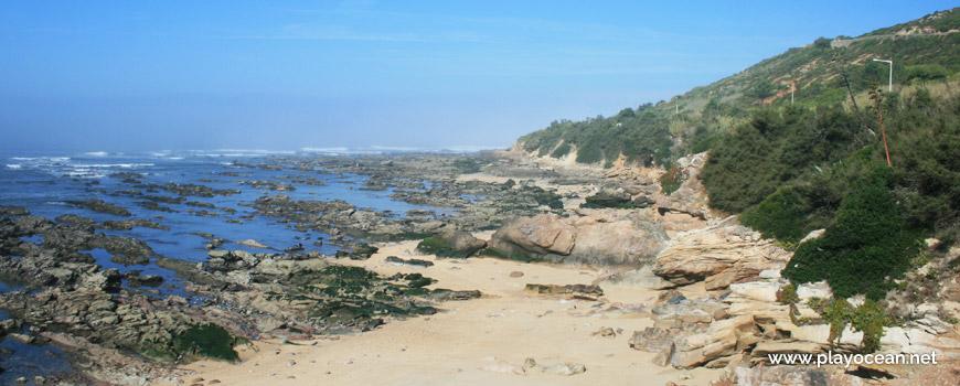 Oeste na Praia da Fonte das Pombas