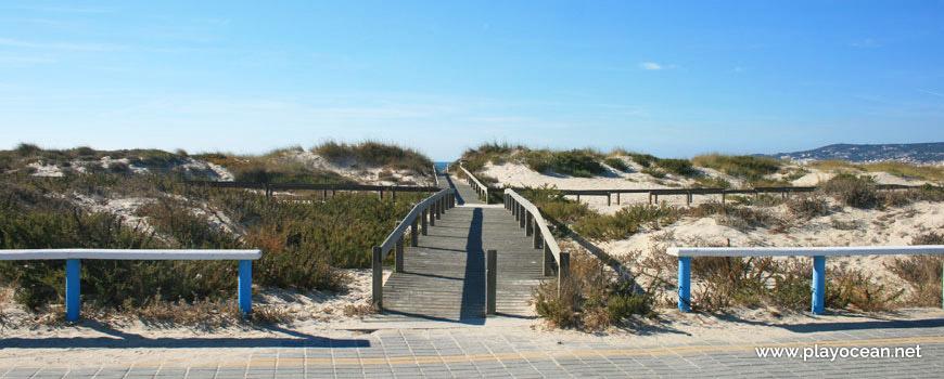 Access to Praia do Hospital Beach