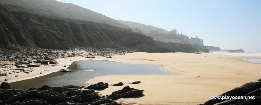 South at Praia da Laje do Costado Beach