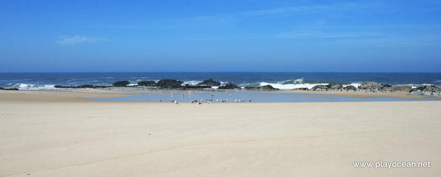 Rocks at Praia da Laje do Costado Beach