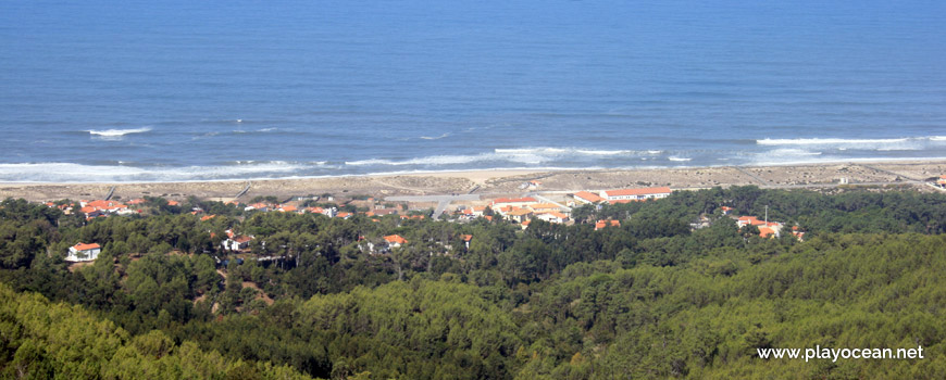 Panoramic of Praia da Murtinheira Beach