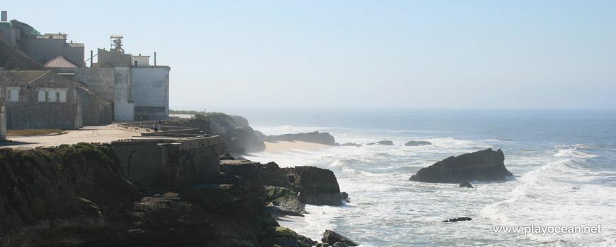 Sul na Praia da Pedra da Nau