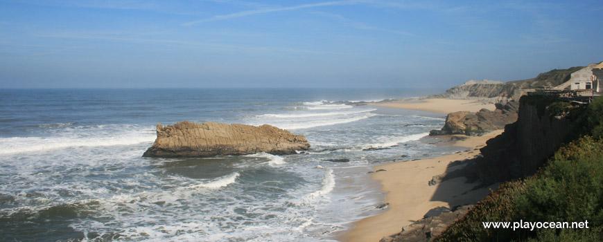 Norte na Praia da Pedra da Nau