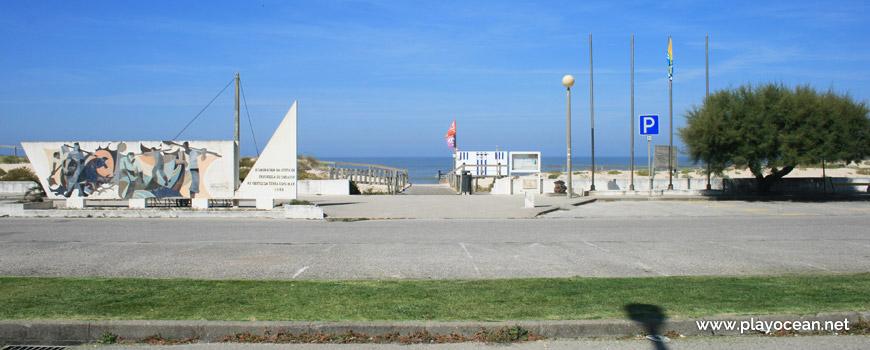 Entrada da Praia de Quiaios